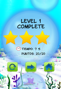 screenshot of Launch Bubbles Water Game version 1.5.13