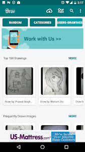 screenshot of Learn To Draw version 4.7