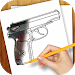 Learn to Draw Guns, Pistols