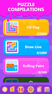 screenshot of Line Quest - Puzzle Game Collection version 1.0.18