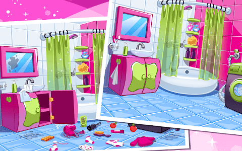 screenshot of Little Baby House Cleaning - Home cleanup game version 1.0