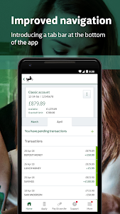 screenshot of Lloyds Bank Mobile Banking version 43.02
