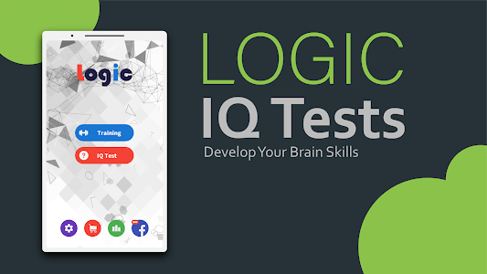screenshot of Logic - Brain IQ Tests and Training version 5