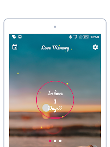 screenshot of Lovedays Counter- Been Together apps D-day Counter version 1.0