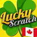 Download Lucky Scratch Canada WIN MONEY - it's a LUCKY DAY 36.0.0 APK