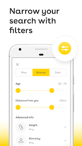 screenshot of Lumen - The Mature Dating App for Silver Singles version 3.00.0