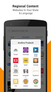 screenshot of M!Browser – Micromax Browser version 2.9.3