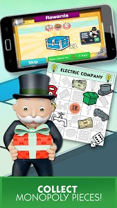 screenshot of MONOPOLY Bingo! version 3.2.1g