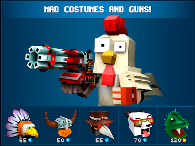 screenshot of Mad GunZ - shooting games, online, pixel shooter version 1.5.5