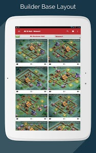 screenshot of Maps for Clash of Clans - Town Hall & Builder Hall version v2.0