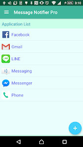 screenshot of Message Notifier Pro - individual sound or remove version 1.7.18