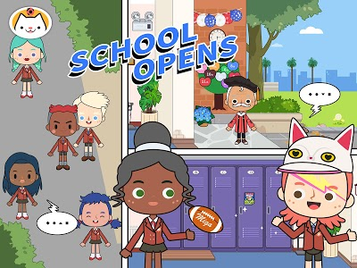 screenshot of Miga Town: My School version 1.1