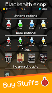 screenshot of Mine Mob Clicker Rpg version 1.2.8