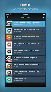 screenshot of Mixcloud - Radio & DJ mixes version 16.6.0