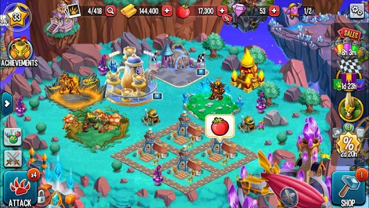 screenshot of Monster Legends version 7.8.4