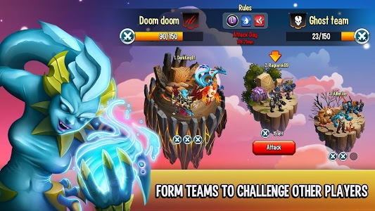 screenshot of Monster Legends version 3.3.1