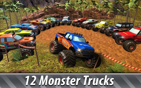 screenshot of Monster Truck Offroad Rally 3D version 2.1.1