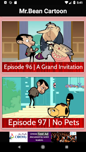 screenshot of Mr. Bean cartoon - Full Episodes version 1.0