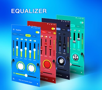 screenshot of Music Equalizer - Bass Booster & Volume Booster version 1.4.1