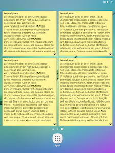 screenshot of My Notes - Notepad version 1.9.4