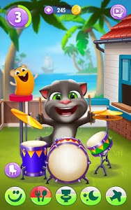 screenshot of My Talking Tom 2 version 1.6.1.702