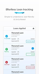 screenshot of Mystro: Quick, Instant & Simple Personal loan app version 1.9.7