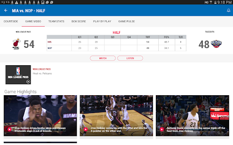 screenshot of NBA 2015-16 version 6.02