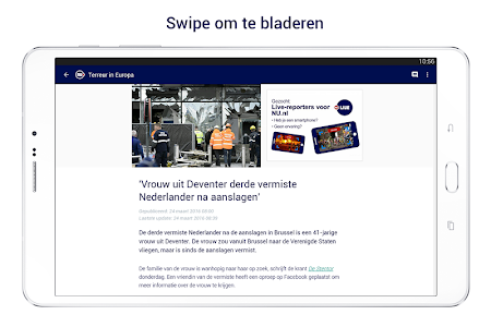 screenshot of NU.nl version Varies with device