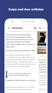 screenshot of NU.nl version 9.13.0