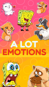 screenshot of New Stickers Funny Cartoons Wastickerapps version 1.22