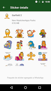 screenshot of New Stickers Funny Cartoons Wastickerapps version 1.15