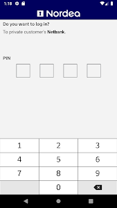 screenshot of Nordea Codes version Varies with device