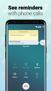 screenshot of Notes with Caller ID version 1.0.385