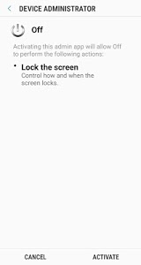 screenshot of Off without lock version 3.2