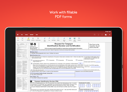 screenshot of OfficeSuite - Office, PDF, Word, Excel, PowerPoint version 10.15.26423