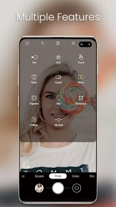 screenshot of One S10 Camera - Galaxy S10 camera style version 1.4