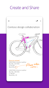 screenshot of Microsoft OneNote: Save Ideas and Organize Notes version 16.0.11727.20002