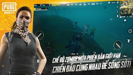 screenshot of PUBG MOBILE VN version 0.12.0