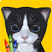 3D Coloring Book for Kids and Adults Paint My Cat