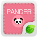 Panda GO Keyboard Emoji Theme