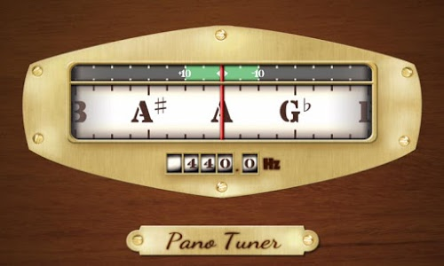 screenshot of Pano Tuner - Chromatic Tuner version 1.2.7.4