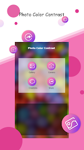 screenshot of Photo Color Contrast version 1.1.1