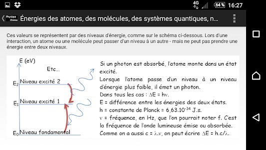 screenshot of Physique_Chimie version 23.4