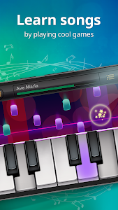 screenshot of Piano Free - Keyboard with Magic Tiles Music Games version 1.54