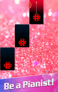 screenshot of Piano Ladybug Noir version 8