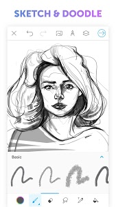 screenshot of PicsArt Color - Painting, Drawing & Sketch version 2.6