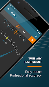 screenshot of Pitched Tuner version 2.5.2
