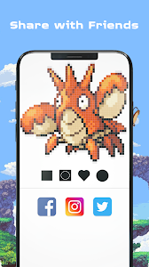 screenshot of Color by Number - Pokees version 3.9