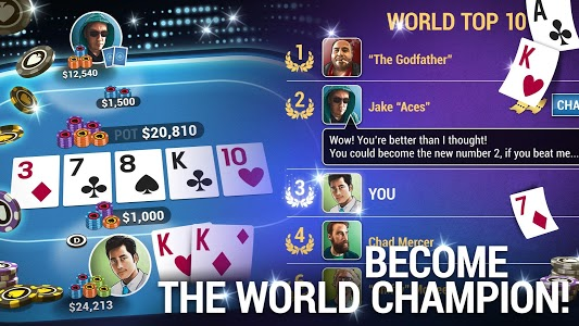 screenshot of Poker World - Offline Texas Holdem version 1.5.10