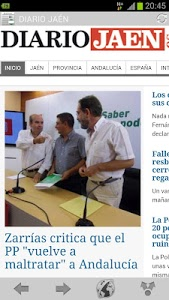screenshot of Prensa andaluza version 10.3